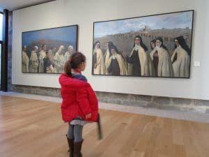Museo Caprotti. El pintor plasmó la historia de Ávila.