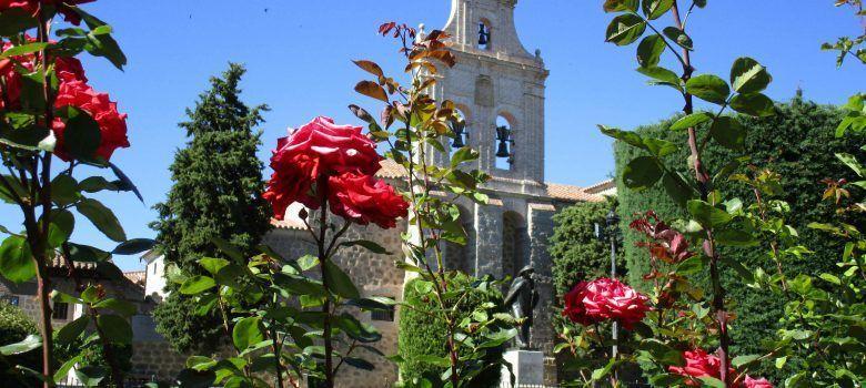Convento de la encarnación. Ávila con niños.