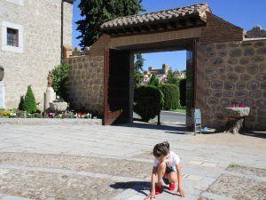 Monasterio de la Encarnación , vistas espectaculares de Ávila