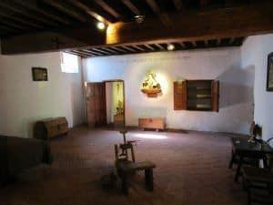 La sala se conserva igual que en el siglo XVI.