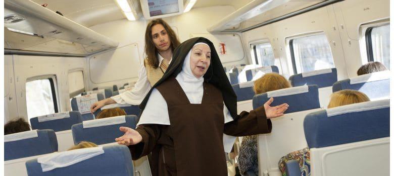 Visitar Ávila con niños en el Tresn de Teresa