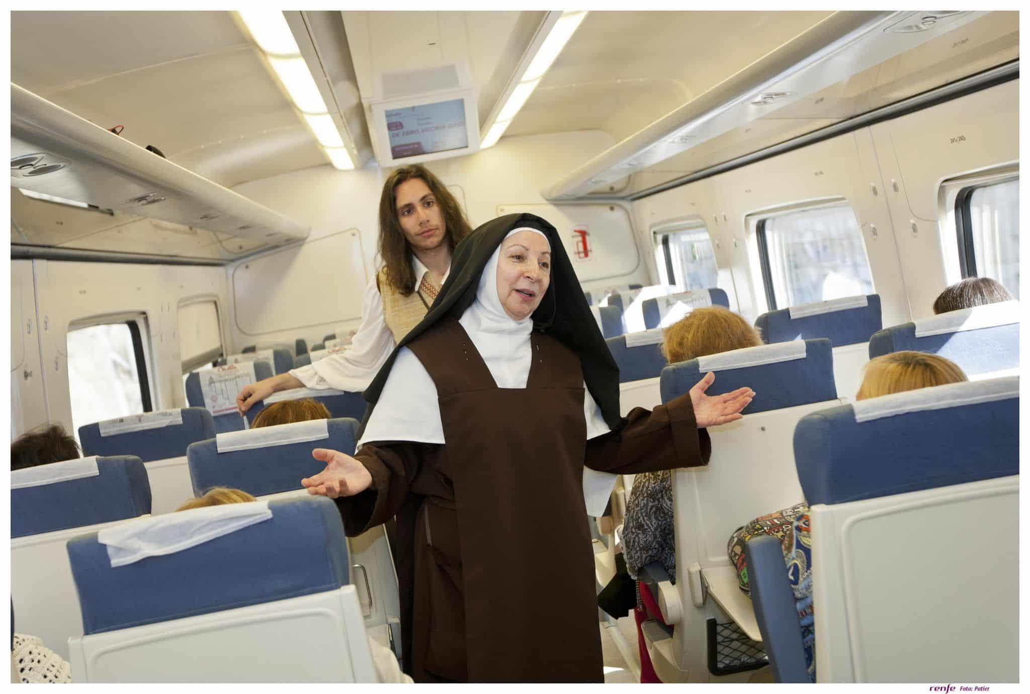 El tren Teresa de Ávila, un buen plan con niños