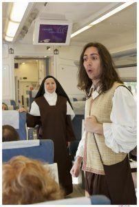 Ir con niños a Ávila en el tren de Teresa es toda una experiencia.