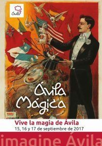 Ávila Mágica se celebra el tercer fin de semana de septiembre.
