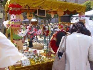 El Mercado Medieval de Ávila es un plan ideal para hacer con niños.
