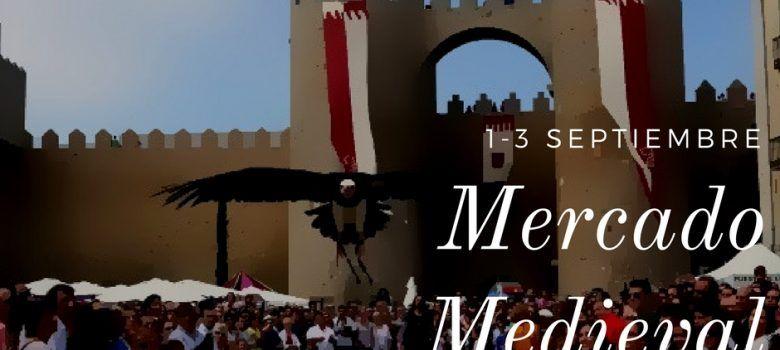 Mercado medieval de Ávila. Del 1 al 3 de Septiembre.