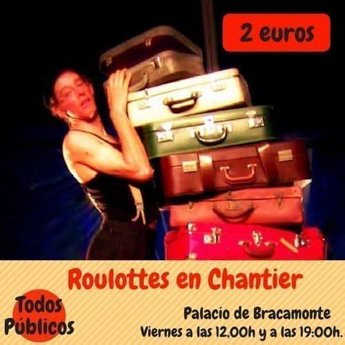 Roulottes en Chantier Circo en Ávila