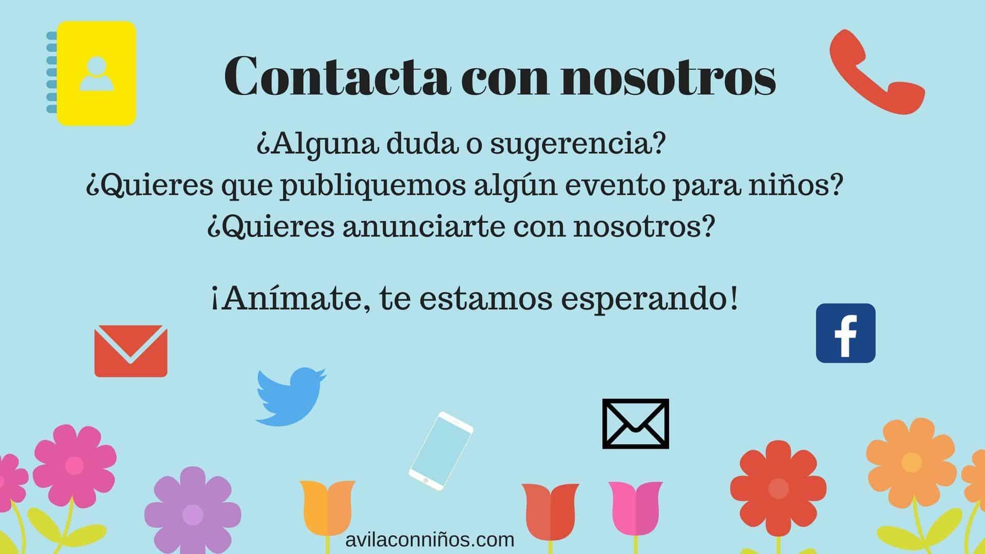 Contacta con Avila con niños