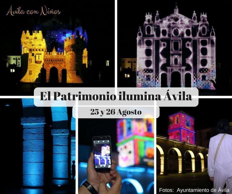 Ilumina Ávila, 25 y 26 de Agosto