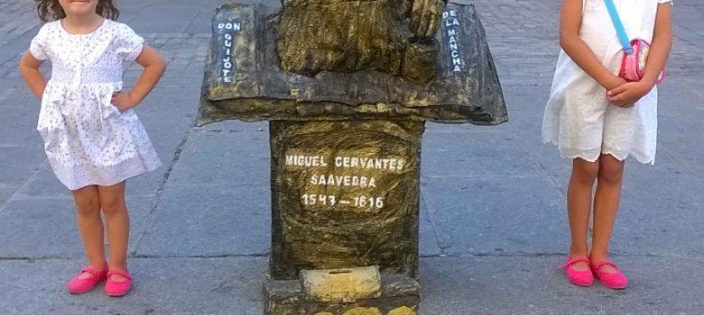 Estatuas vivientes en Ávila