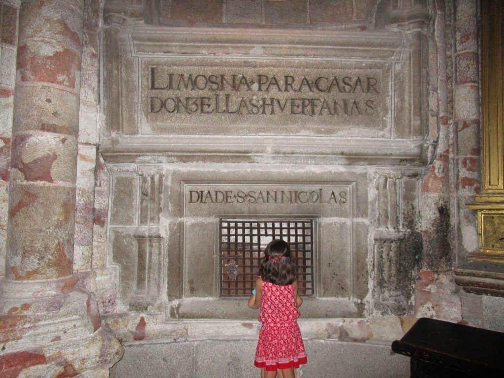 Inscripción en la Catedral de Ávila