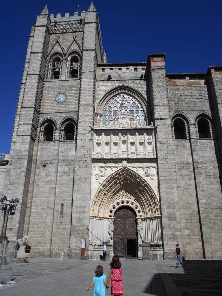 Catedral de Ávila. Catedral de EL Salvador