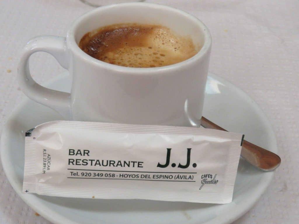 Restaurante J.J. en Hoyos del Espino. Gredos con niños