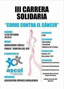 Carrera solidaria Navaluenga