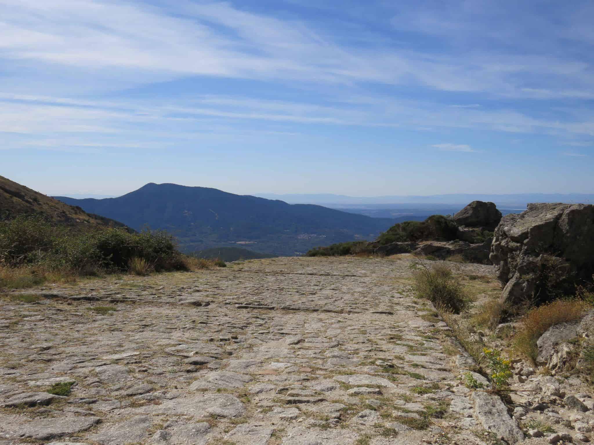 Calzada Romana Puerto El Pico