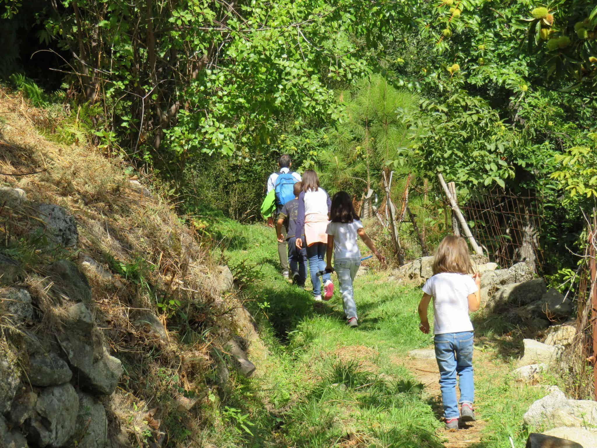 Cuevas del Valle con niños