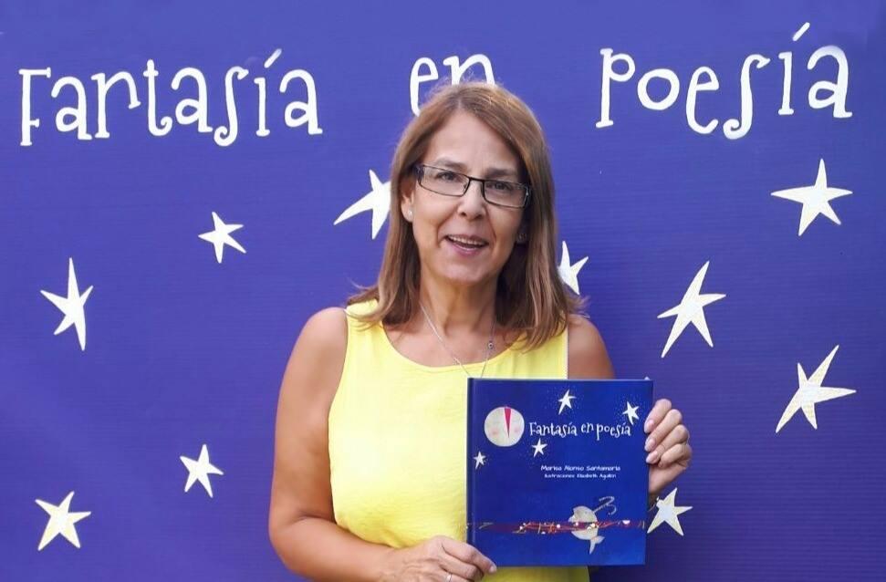 Marisa Alonso Santamaría. Fantasía en Poesía