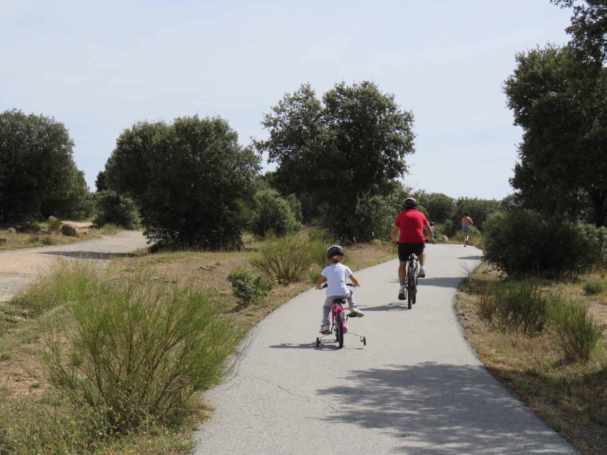 carril bici de Campo Azálvaro