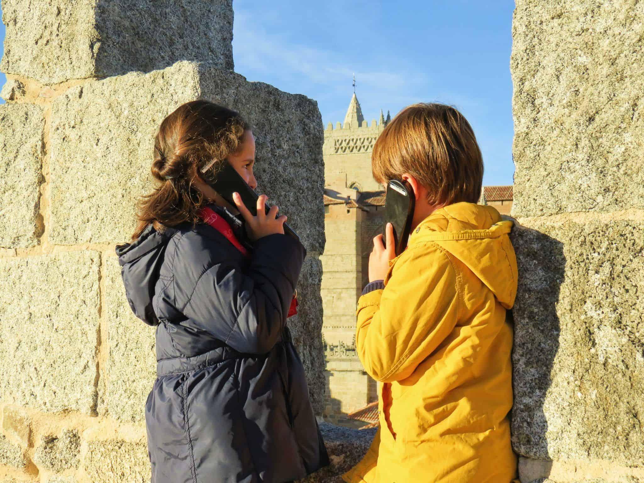 Audioguías infantiles en la Muralla de Ávila