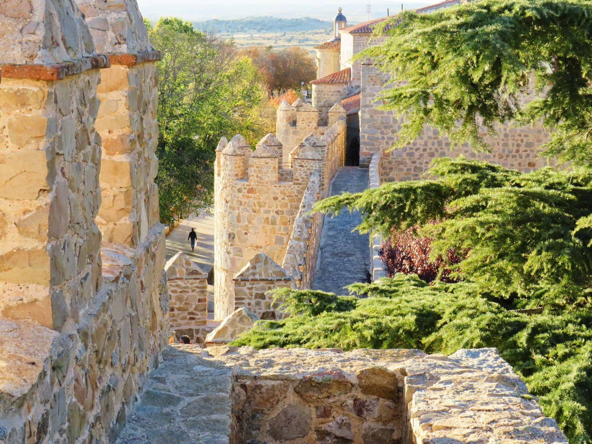 las alturas en la Muralla de Ávila. Que ver en Avila