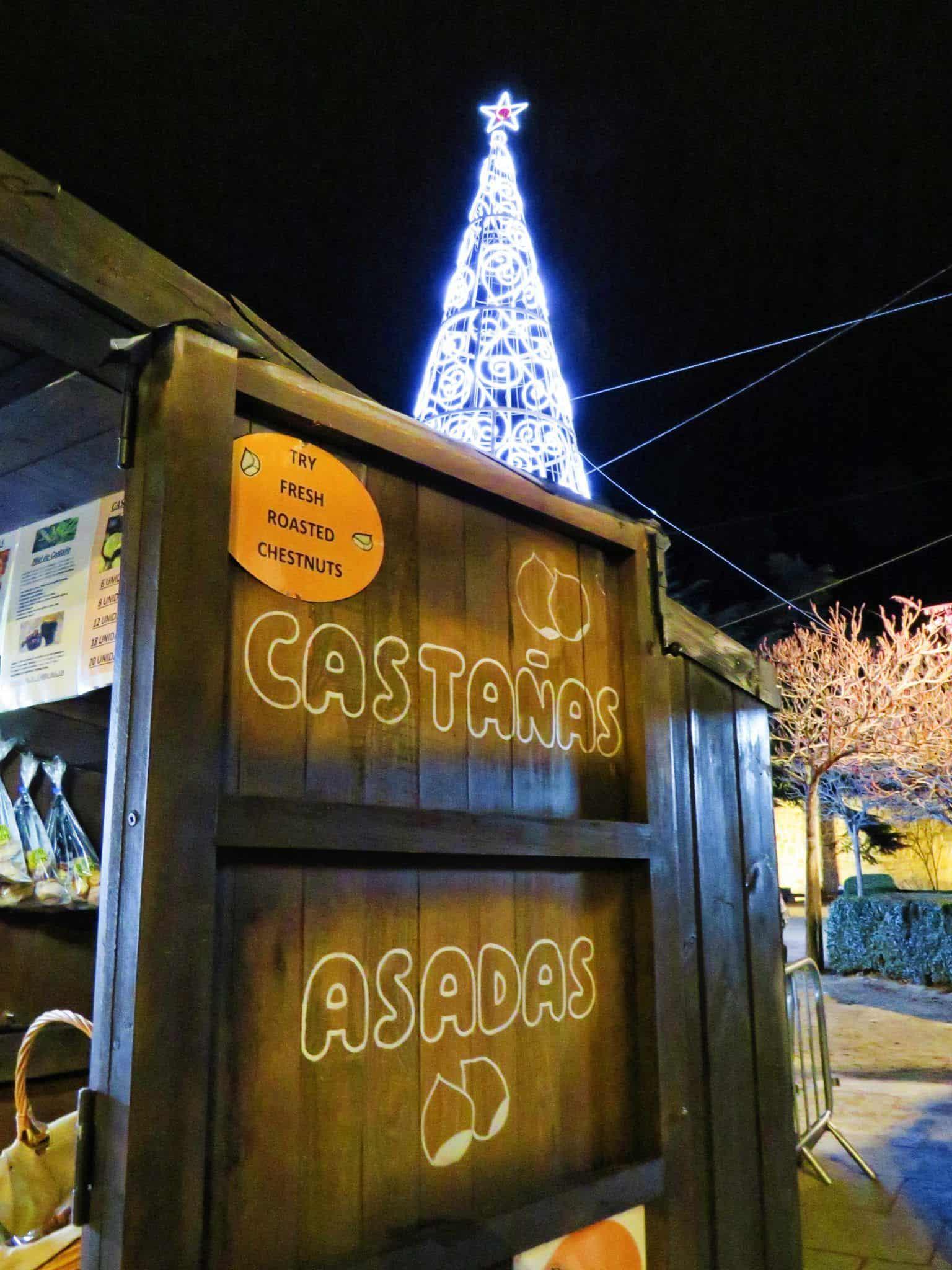 Ávila en Navidad