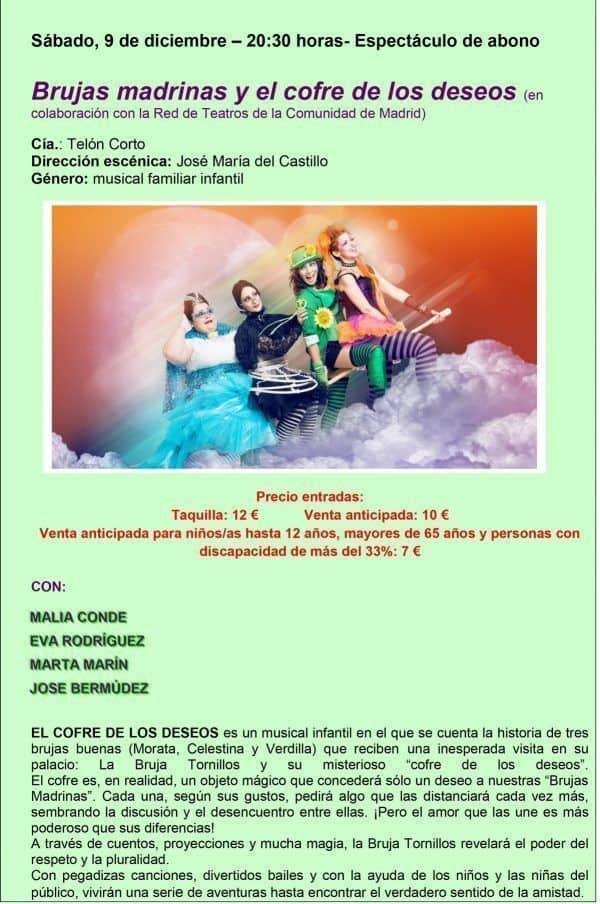 teatro infantil en San Martín de VAldeiglesias