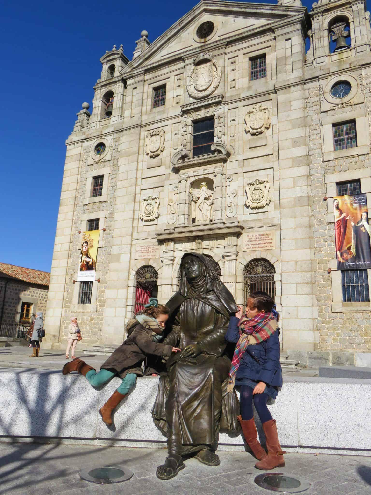 Plaza de La Santa en Ávila