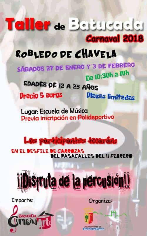 Batucada en Robledo de Chavela