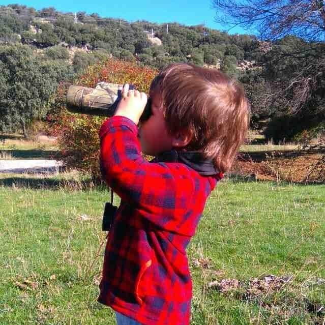 disfrutar del campo con los niños