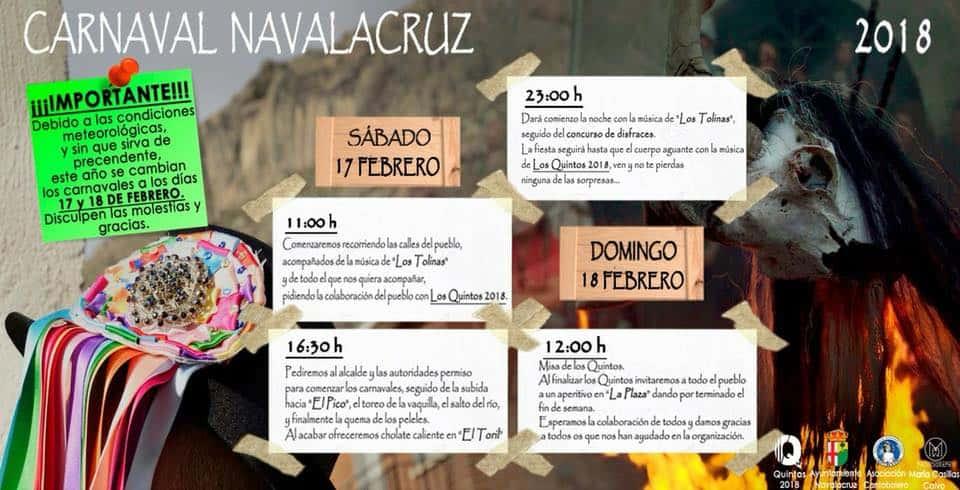 carnaval en navalacruz