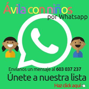 ávila con niños por whatsapp