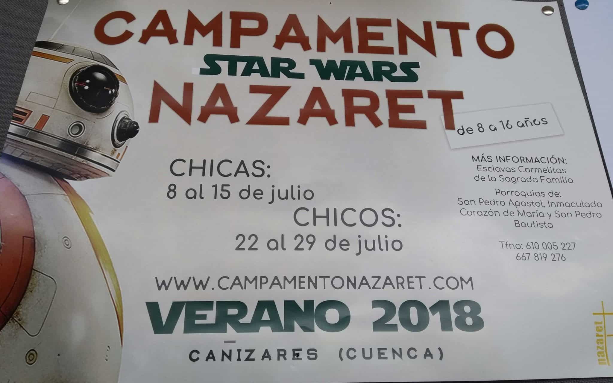 Campamento Star War Nazaret