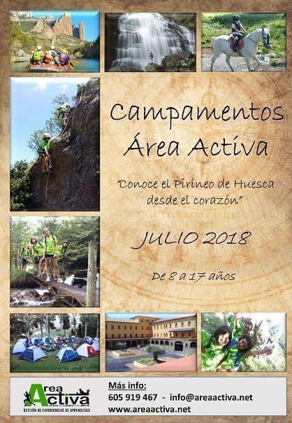 campamentos de verano en Ávila
