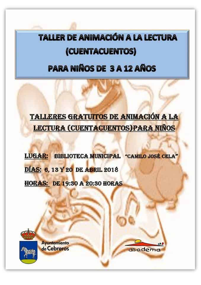 mes del libro infantil en Cebreros