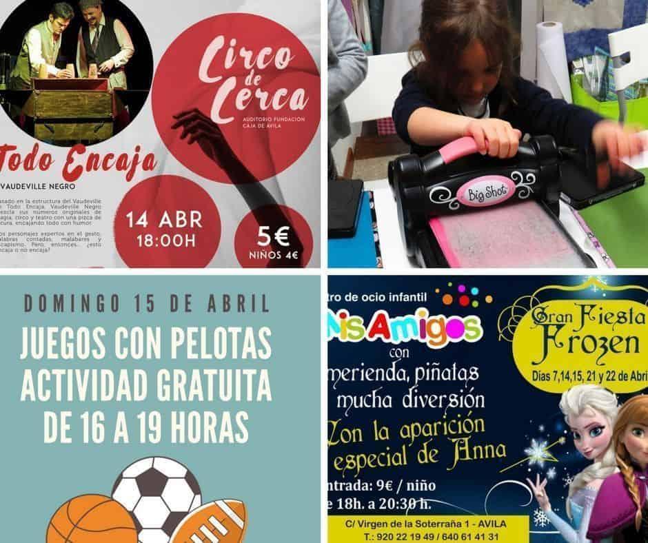 ya llega el fin de semana a Ávila con niños