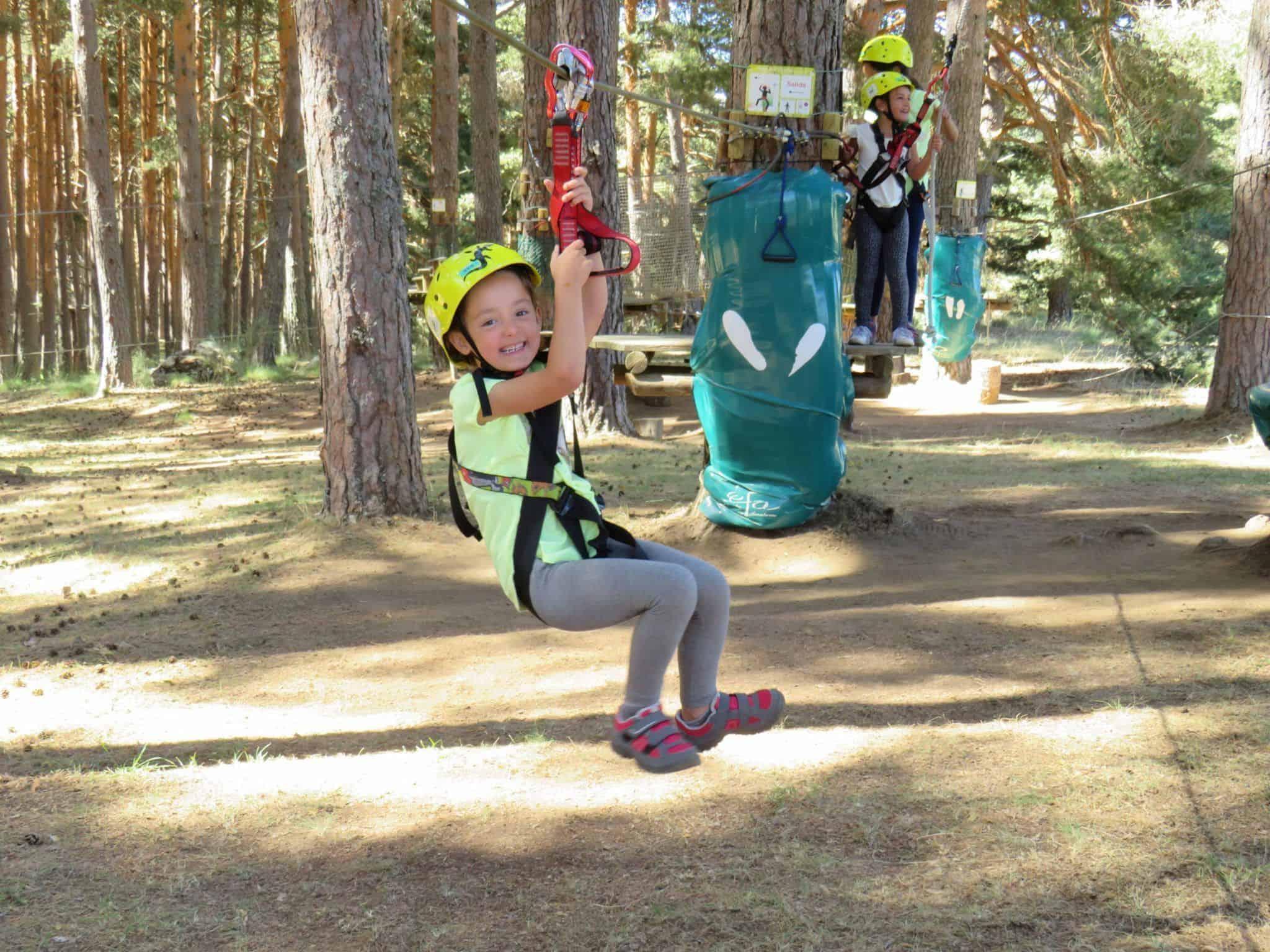 Parque de aventura en Gredos