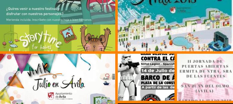 fiestas de verano Ávila 2018 y mucho más