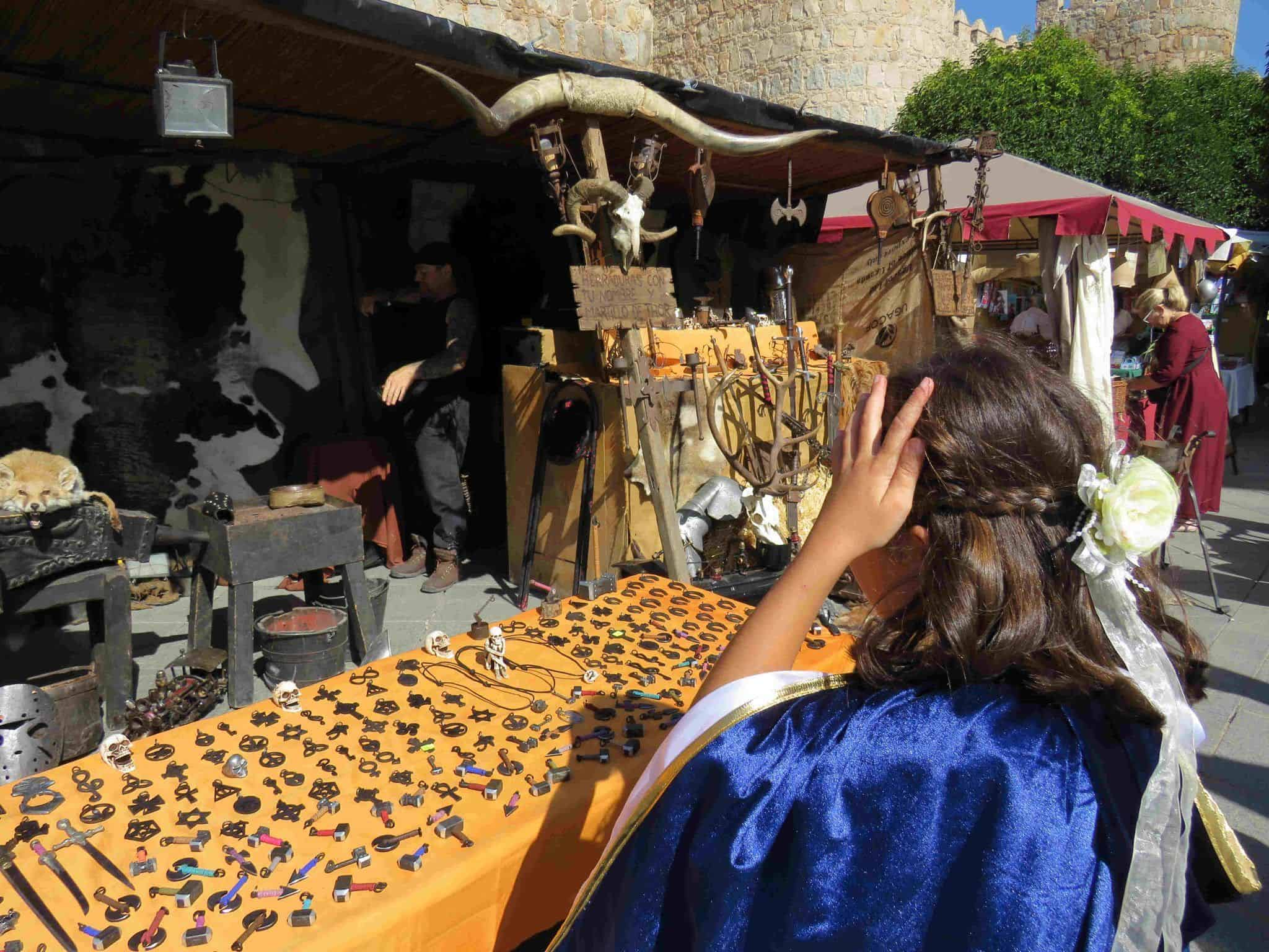 mercado medieval de Avila