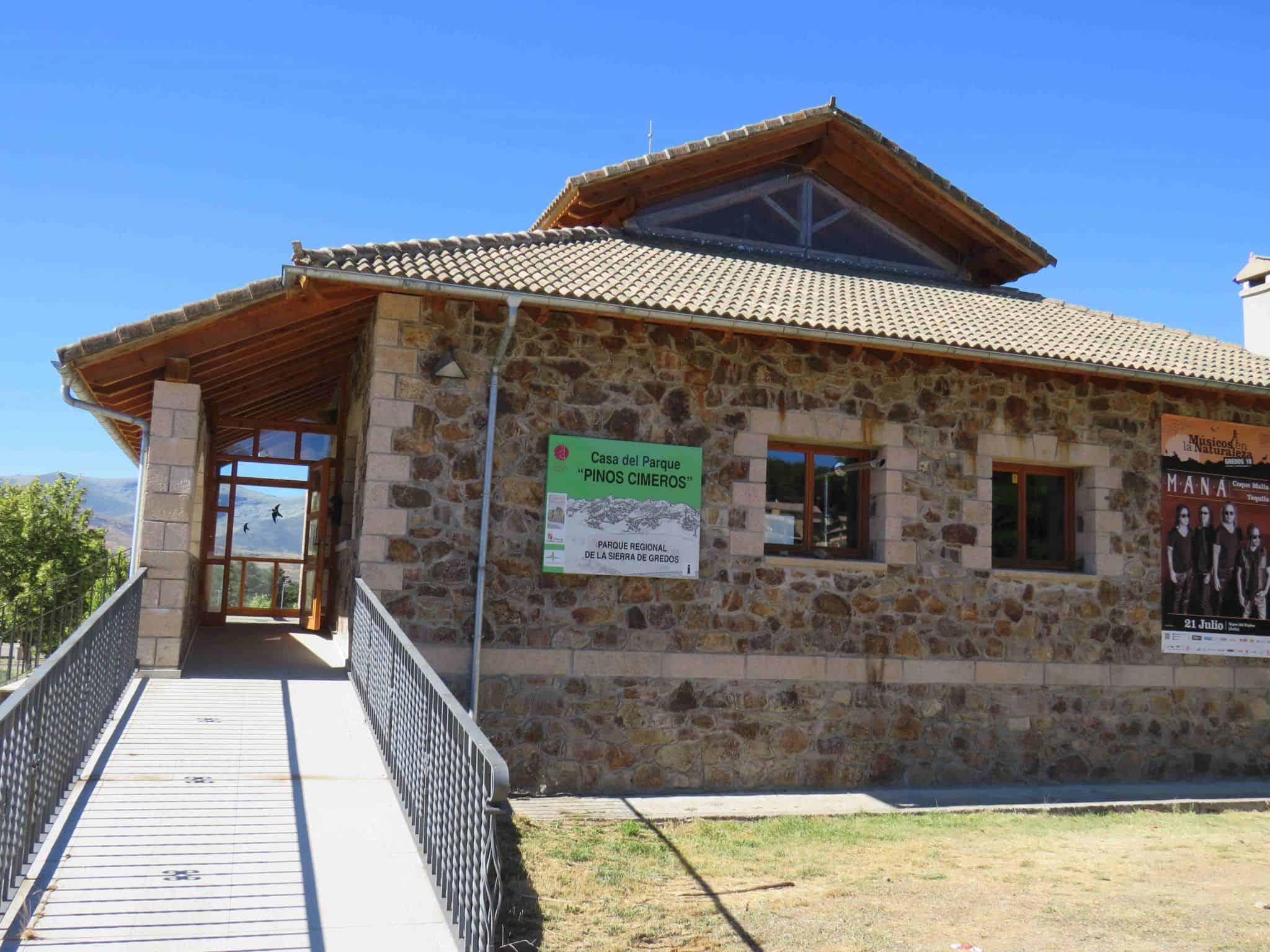 casa del parque en Gredos