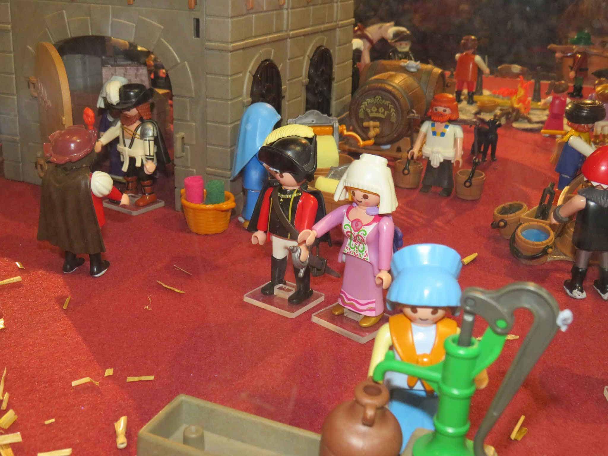 Estampas de Santa Teresa en Playmobil