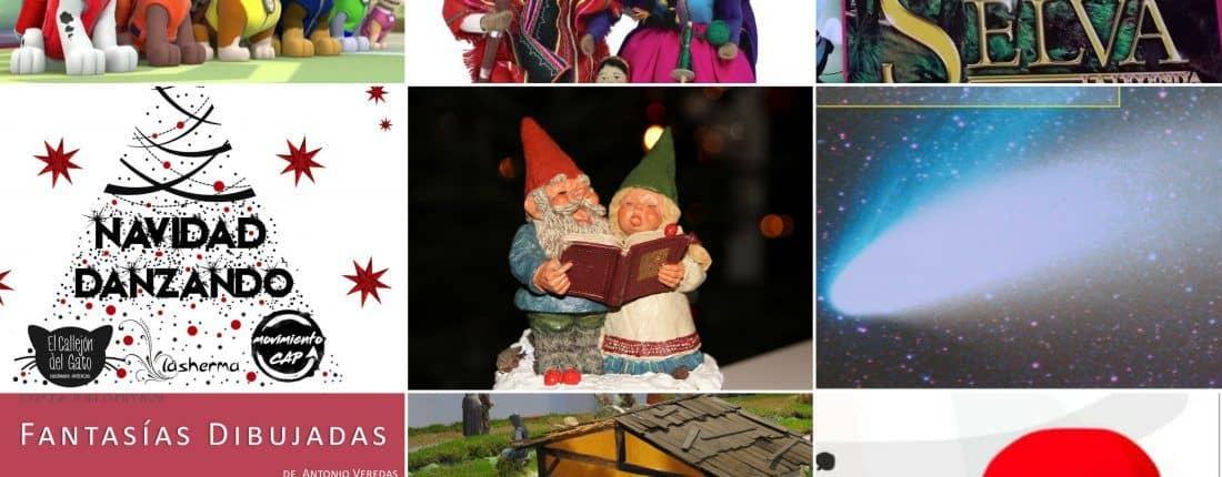Belenes y Navidad para el fin de semana