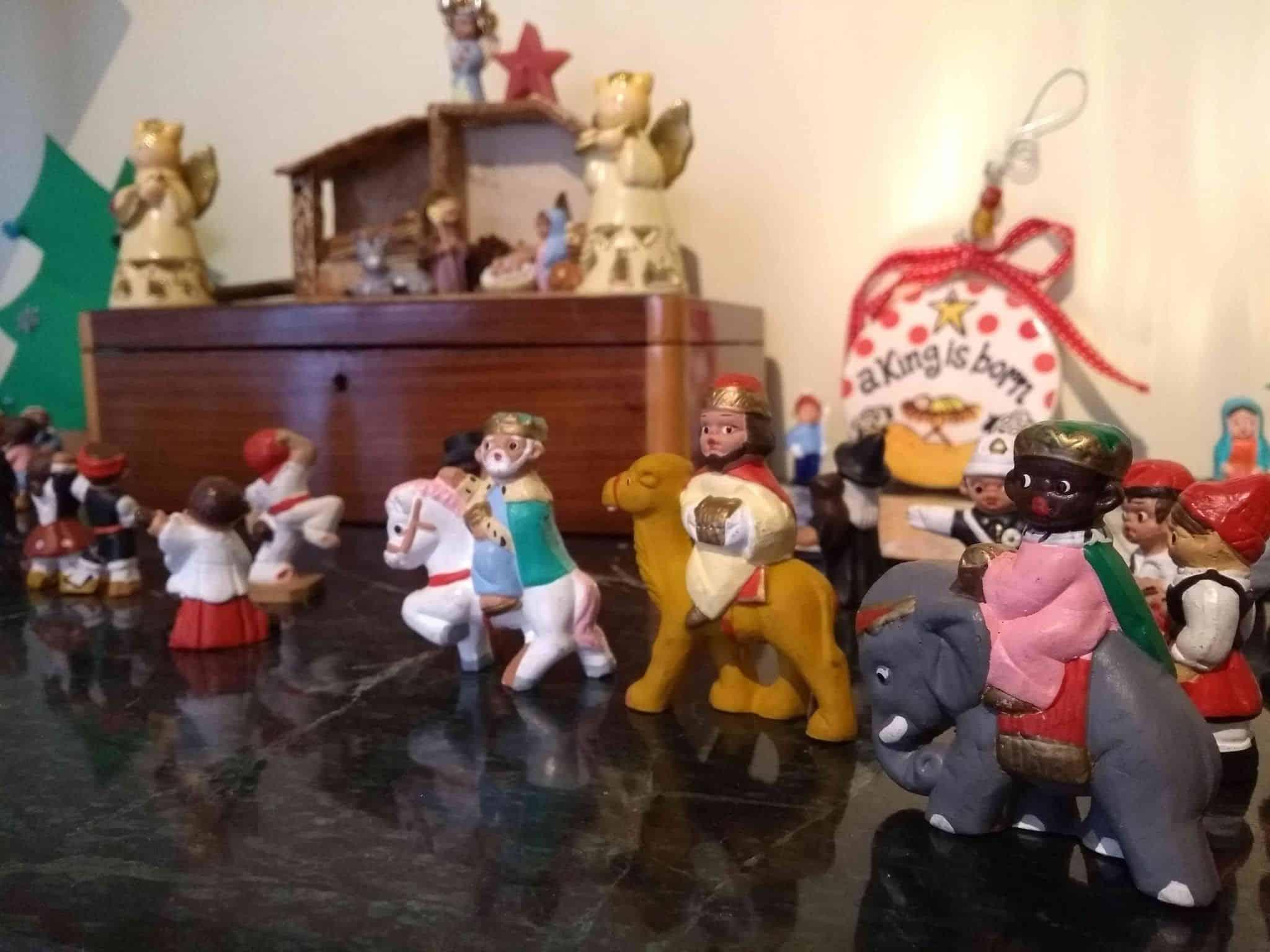 concurso de belenes de Ávila con Niños
