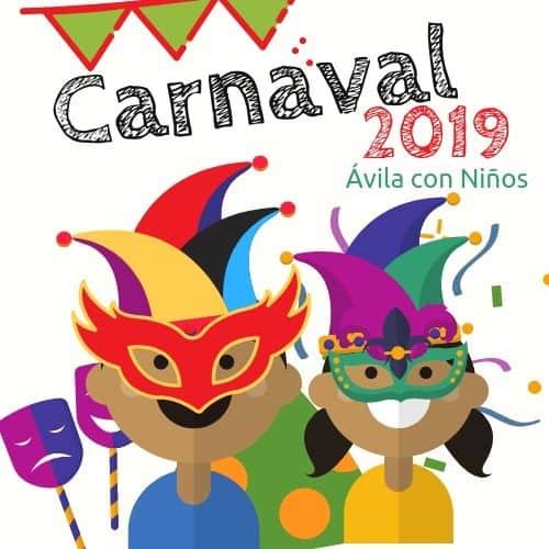 carnaval en Ávila 2019