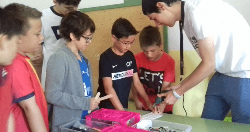 Roboticole. Campamento Tecnológico en Mingorría
