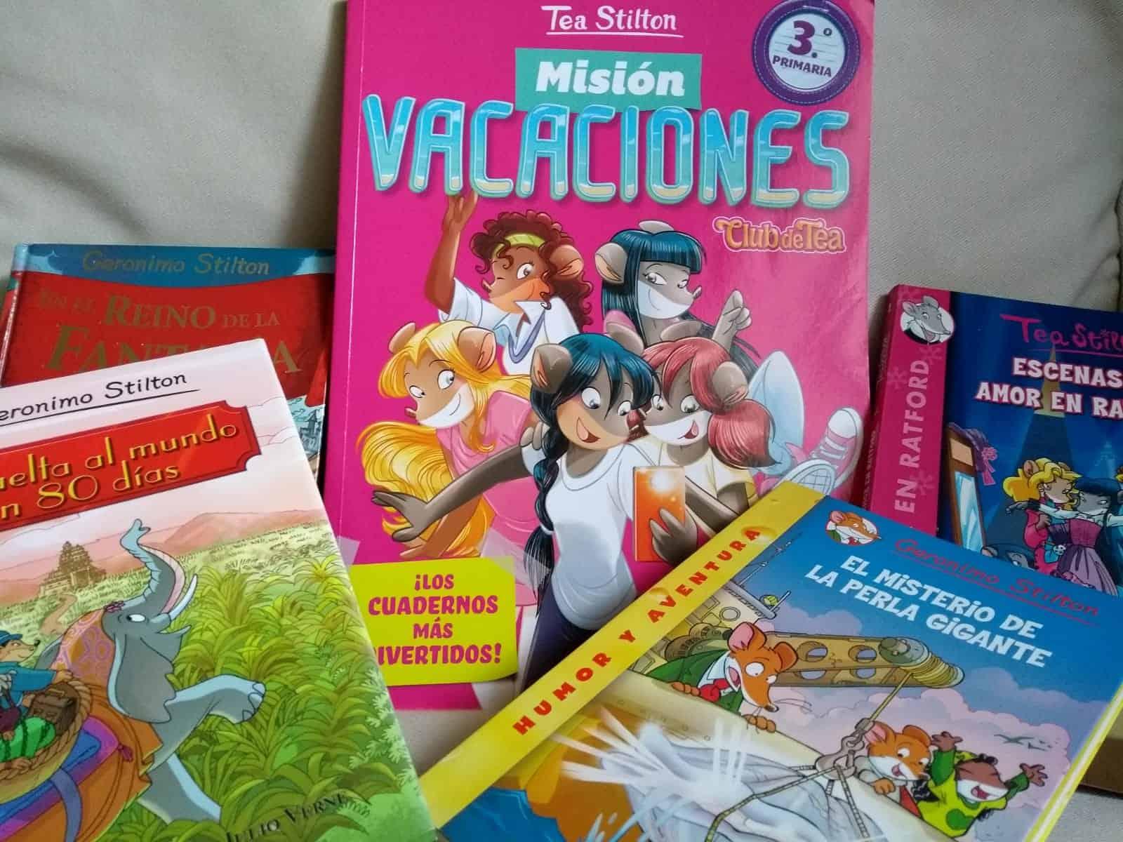 Libros de actividades para el verano