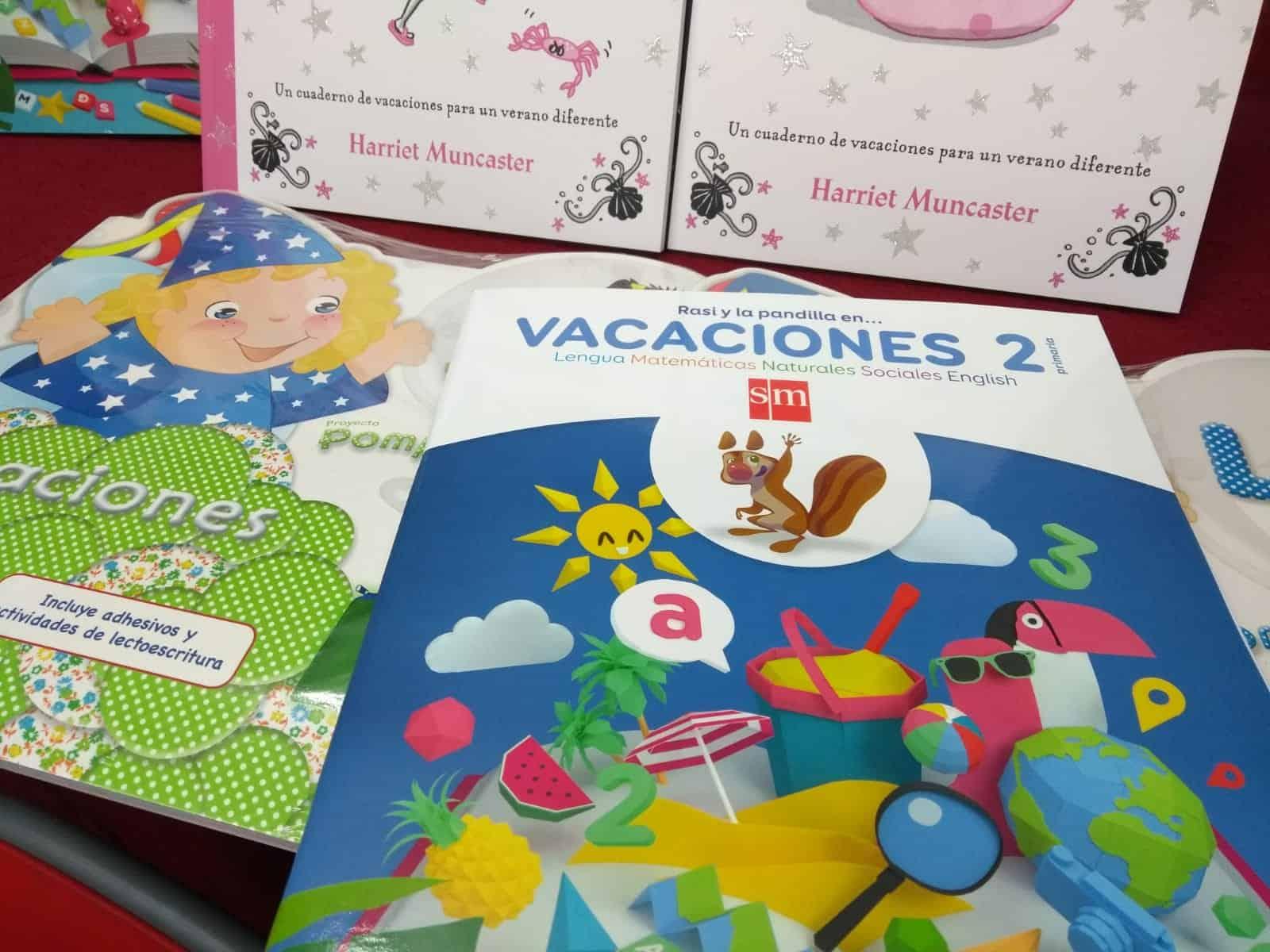 libros actividades verano