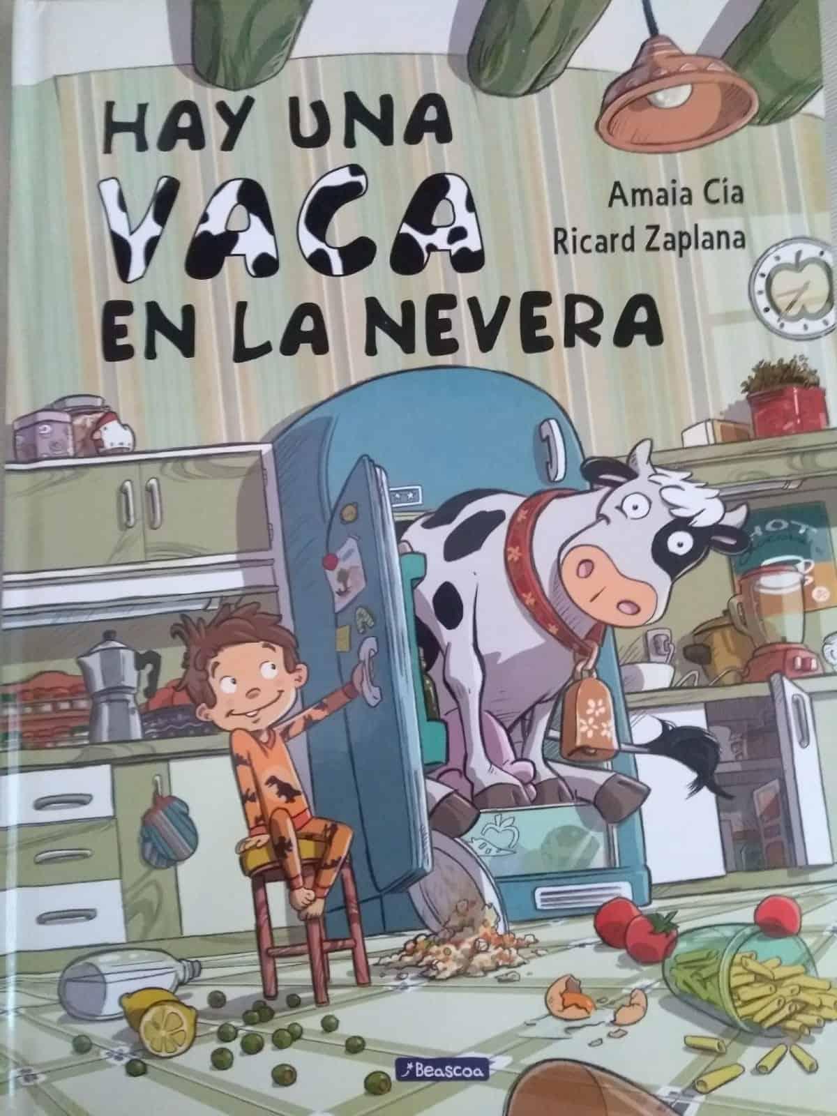 vaca en la nevera