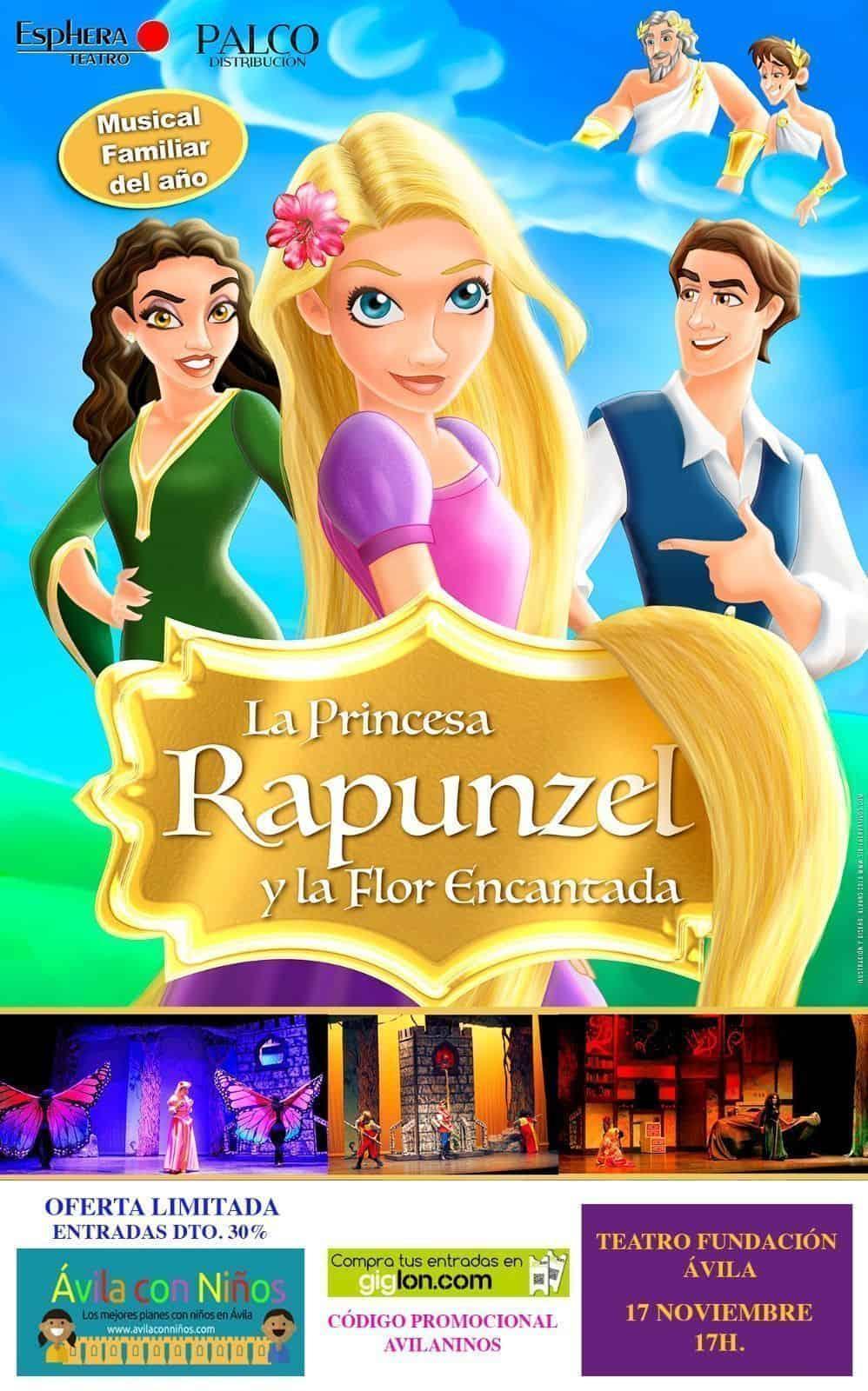 musical rapunzel avila