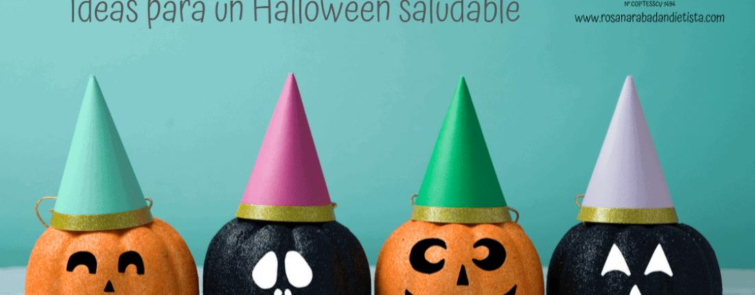 Truco o trato: Ideas para un Halloween saludable