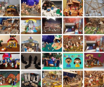 Todos los Belenes del II Concurso de Belenes 'Ávila Con Niños'